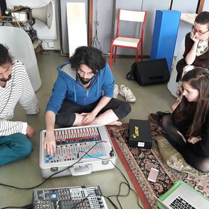 Workshop à l'ENSA Bourges