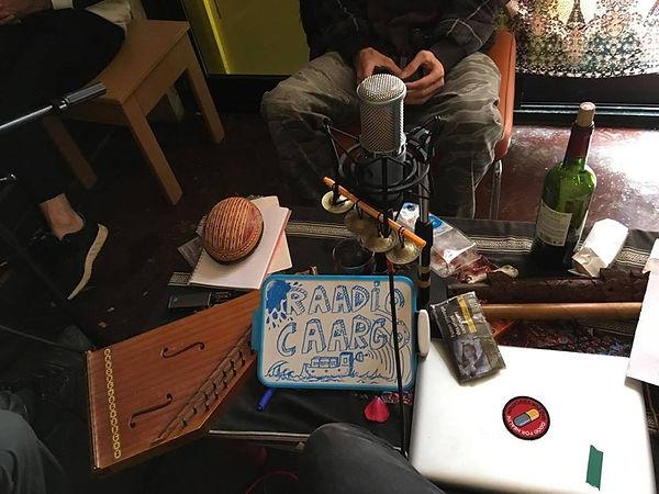 rAAdio cAArgo, Ateliers du vent, container, Rennes, radio