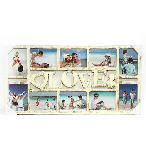 מסגרת love 10 תמונות