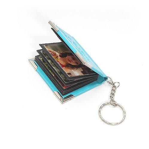 מחזיק מפתחות ספר + הדפסת תמונות