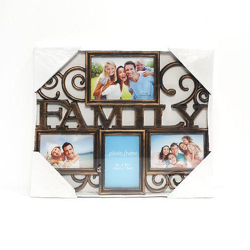 מסגרת עמית family 4 תמונות