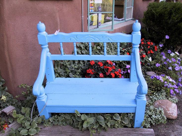 Sit in Mr. Blue
