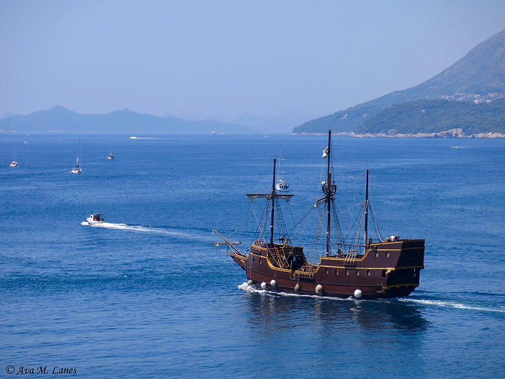 Sailing From Dubrovink I