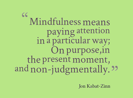 Learn to Be Mindful