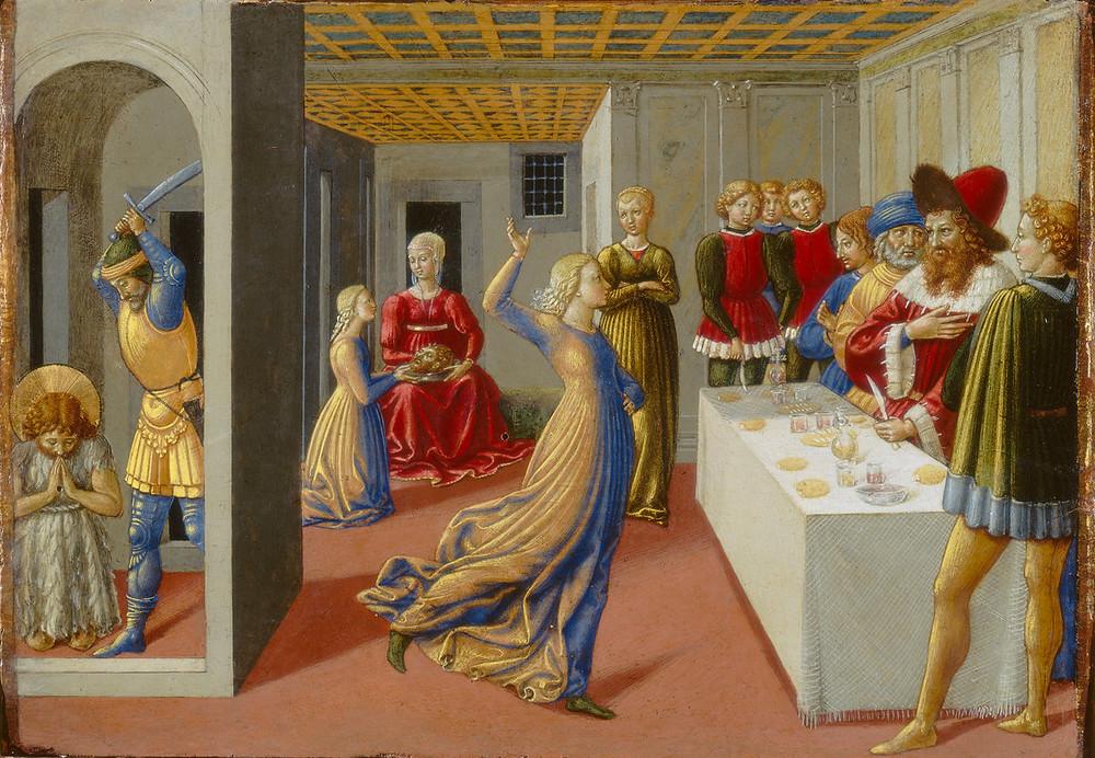 The Feast of Herod and the Beheading of Saint John the Baptist 1461-1462 Benozzo Gozzoli