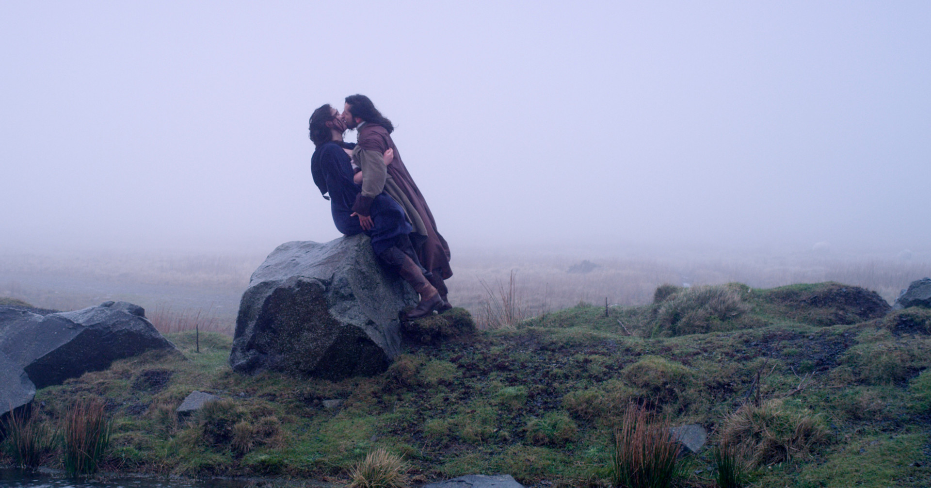 Heathcliff and Cathy in Wuthering Heights Feature film