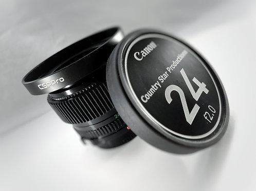 Full Mod Bundle - 80mm Matte Box Cinema Ring, Custom Cap and focus gear.