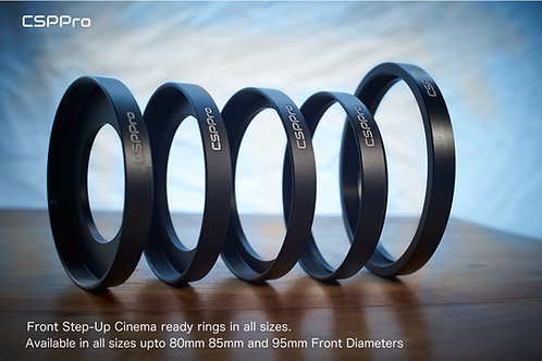 80mm Front Matte Box Cinema Ring with 77mm thread