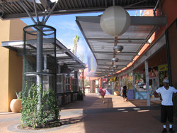 Shade Structures and Landscaping