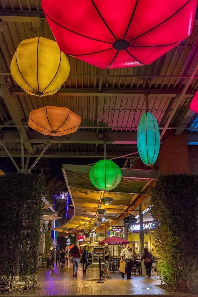 Colorful Lighting Pendant Orbs