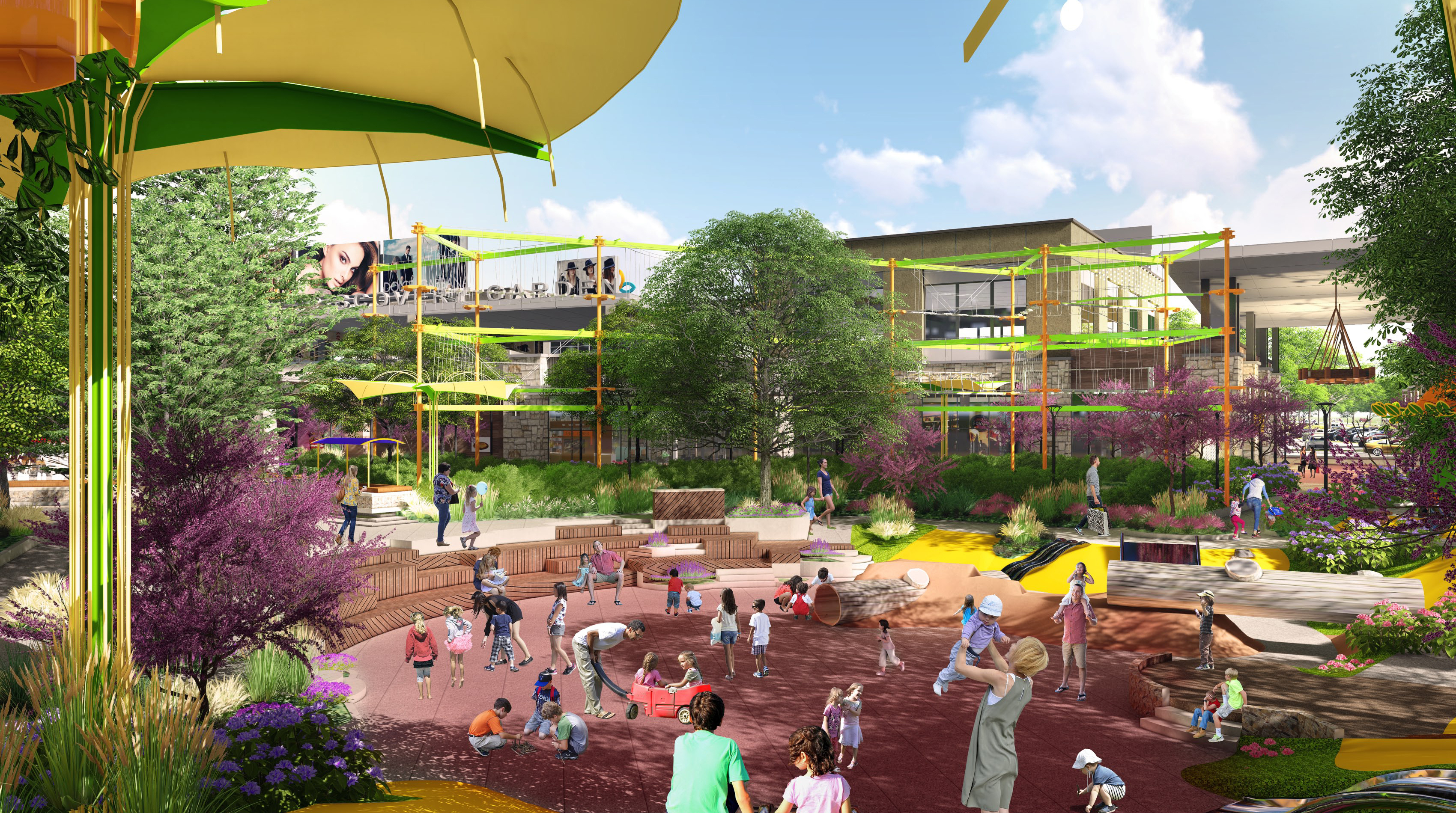 Rendering - Children's Park