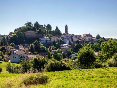 Little Sciolze in the hills of the Castles of Piemonte