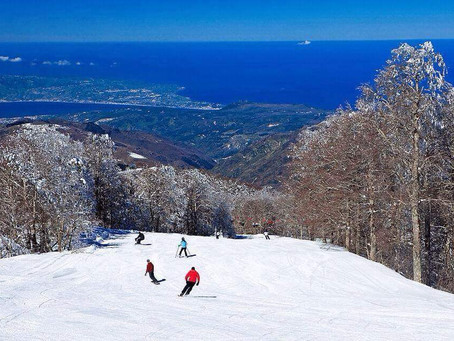 Snow, Sun and Sea all in one place Gambarie d'Aspromonte Calabria