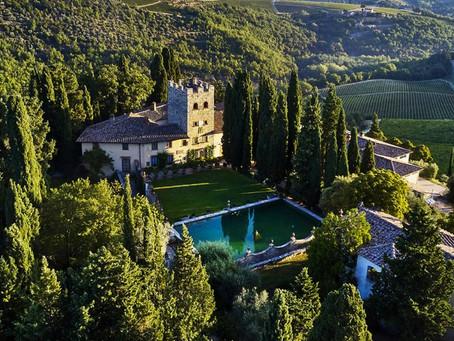The door of Chianti: Greve in Chianti and the Verrazzano Castle