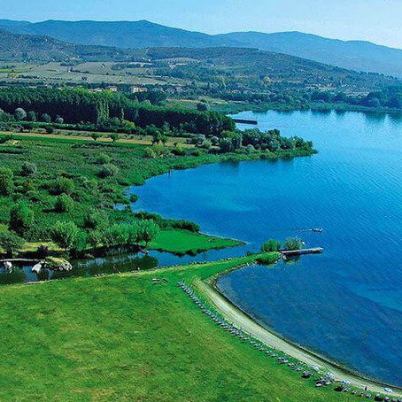 Lake Trasimeno the Blue Lake of Umbria