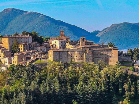 Montone one of the most beautiful Italian villages in Italy