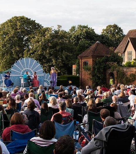 Outdoor theatre, open air theatre, shakespeare, illyria, united kingdom