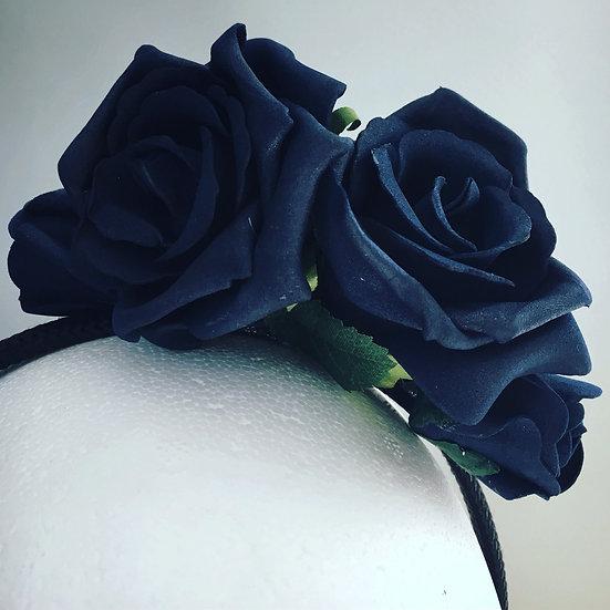 Inky Blue Rose