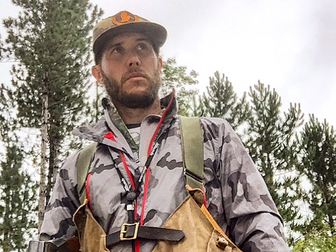 Don't call him homeless. He's living a hunter's dream.