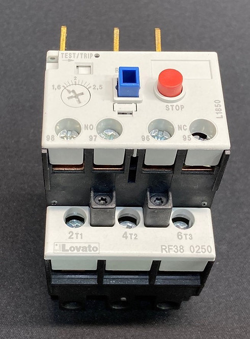 Lovato Thermal Overload Relay 1,6 - 2,5 Amp