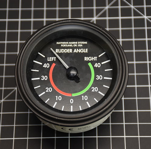 Rudder Angle Indicator (Analog)