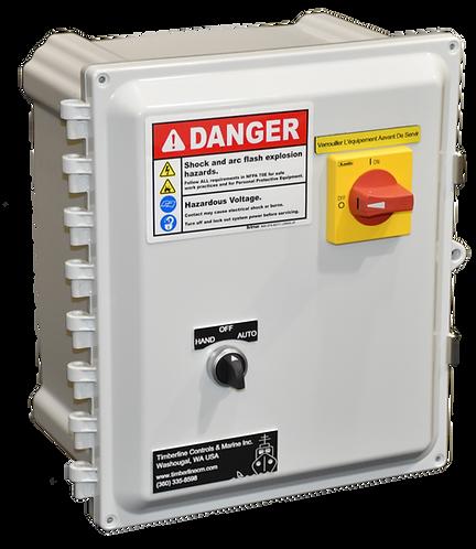 UL508A 3/4 - 5 HP Motor Starter Control Box / HOA
