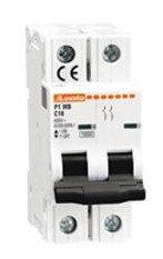 Lovato Circuit Breaker 2 Pole, P1MB2PC01, C Curve, 10KA (UL 1077)