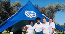 Standard Bank Corporate Mobile Spa Golf Day, massage, manicure, pedicure