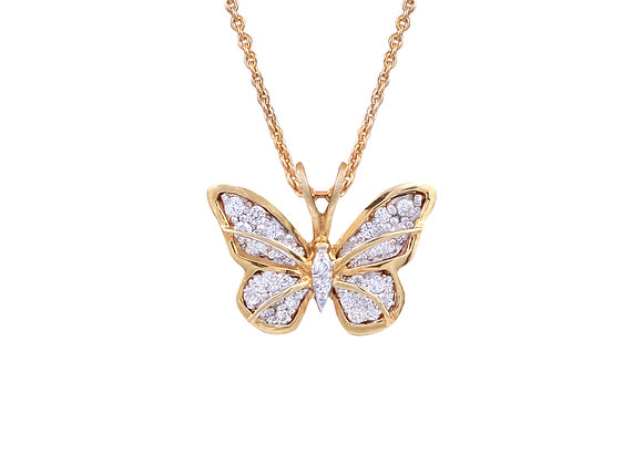 Charlotte the Butterfly Pendant