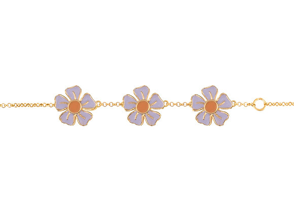 Syrin the Delighful Flower Bracelet