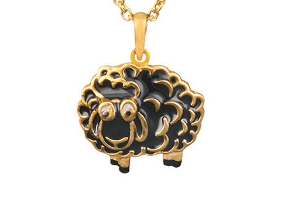The Peaceful Sheep of Pillow Woods Pendant