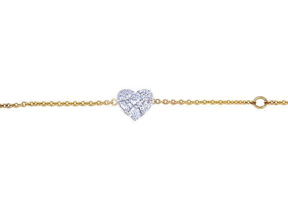 Amanda the Heart Bracelet