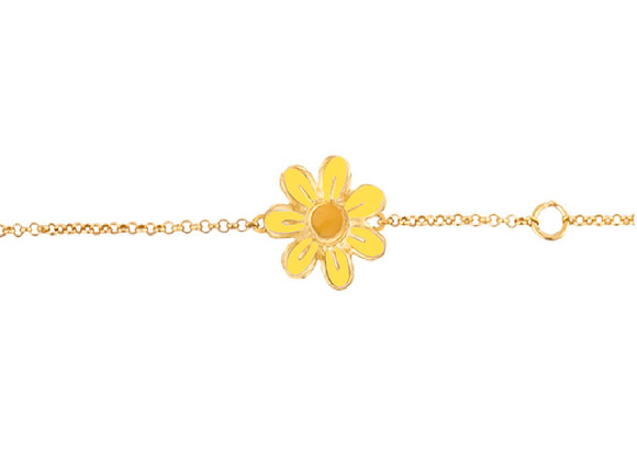 Daisy the Joyful Flower Bracelet