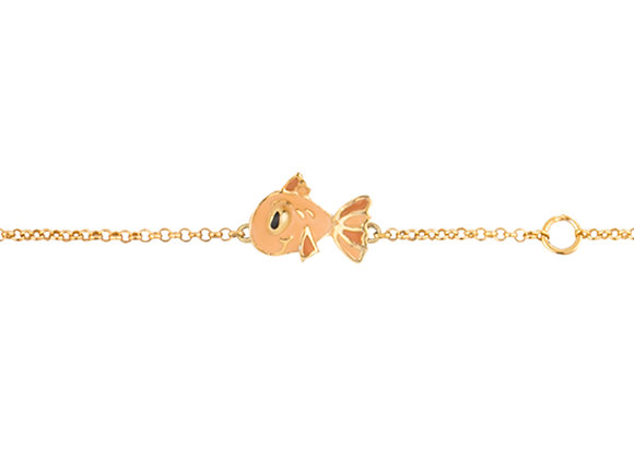 Pax the Patient Fish Bracelet