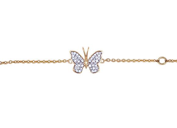 Charlotte the Butterfly Bracelet