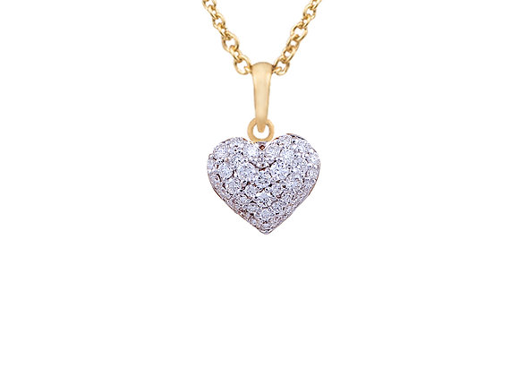 Amanda the Heart Pendant