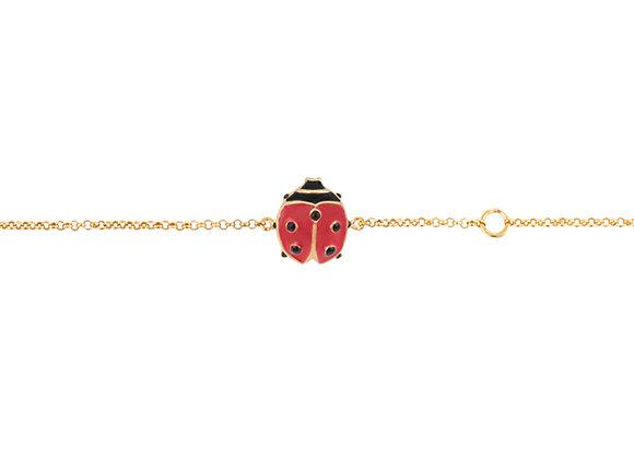 Junior Lina The Lucky Ladybug Bracelet