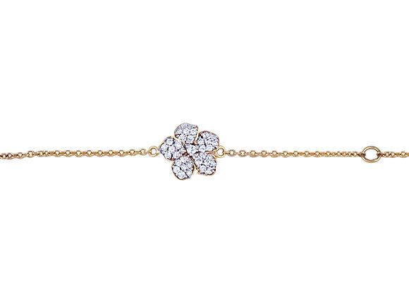 Teresa the Flower Bracelet