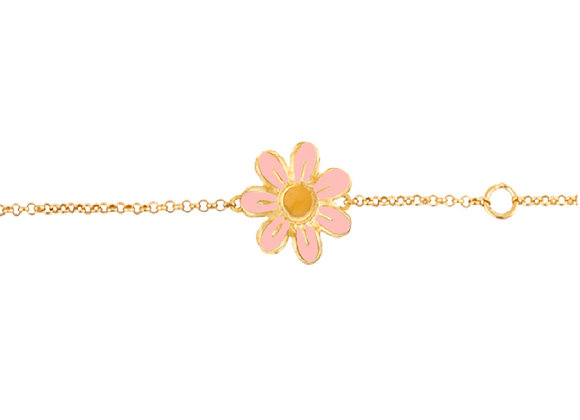 Daisy the Joyful Flower Bracelet
