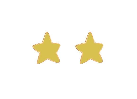 Lysa the Luminous Star Earrings