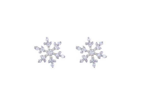 Nettie the Snowflake Earrings