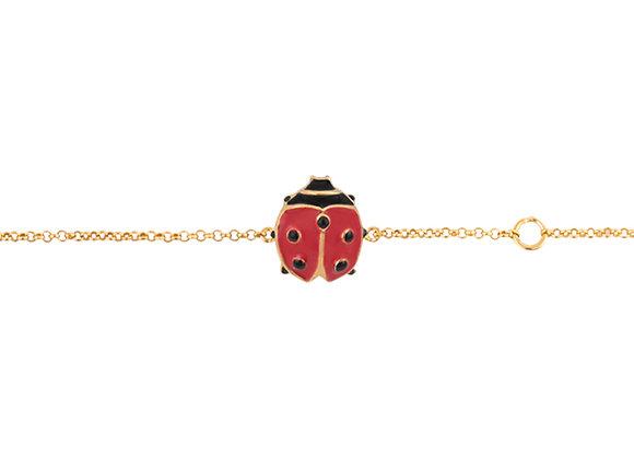 Senior Lina The Lucky Ladybug Bracelet