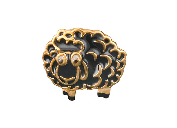 The Peaceful Sheep of Pillow Woods Pin