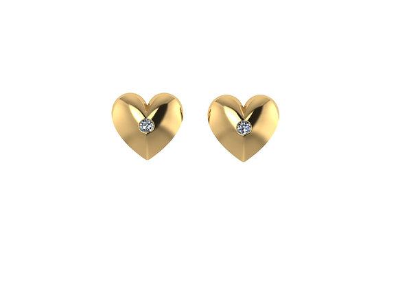 Amy the Heart Earrings