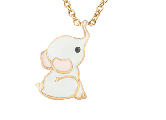 Eddie The Loyal Elephant Pendant