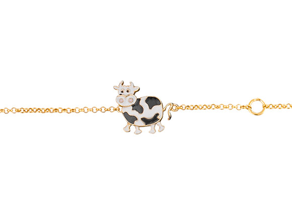 Belevan The Kind and Fierce Cow Bracelet