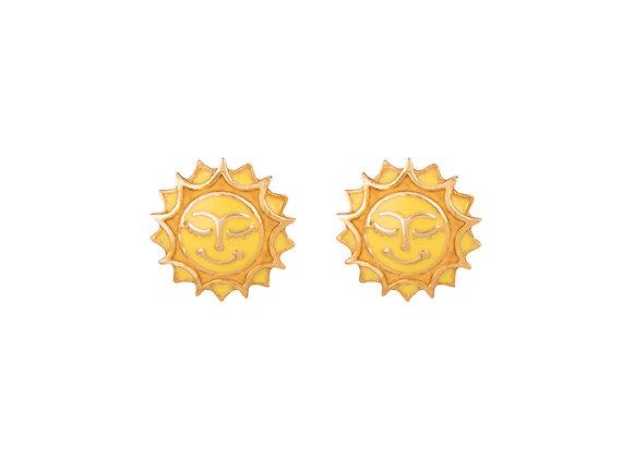 Sol the Radiant Sun Earrings