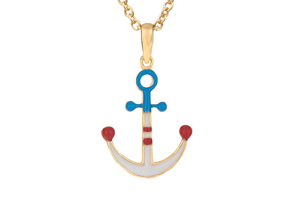 Trygg the Trustworthy Anchor Pendant