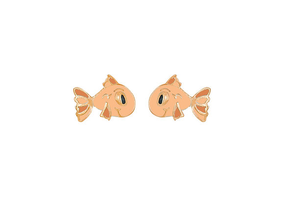 Pax the Patient Fish Earrings