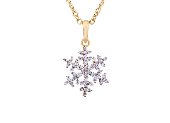 Nina the Snowflake Pendant